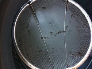 酸素系漂白剤(過酸化ナトリウム)で洗濯槽を洗ってみたその2
