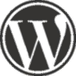 wordpress公式フラットアイコン